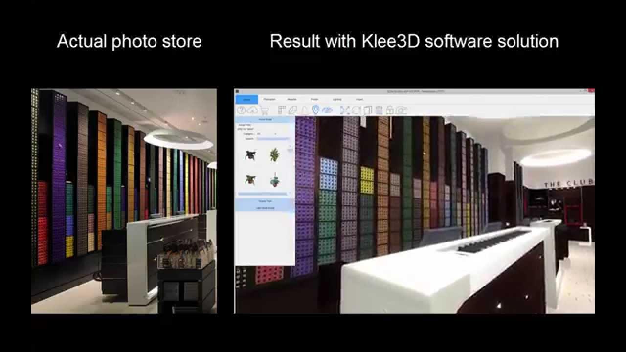 Store Design, Klee 3D Software Solution