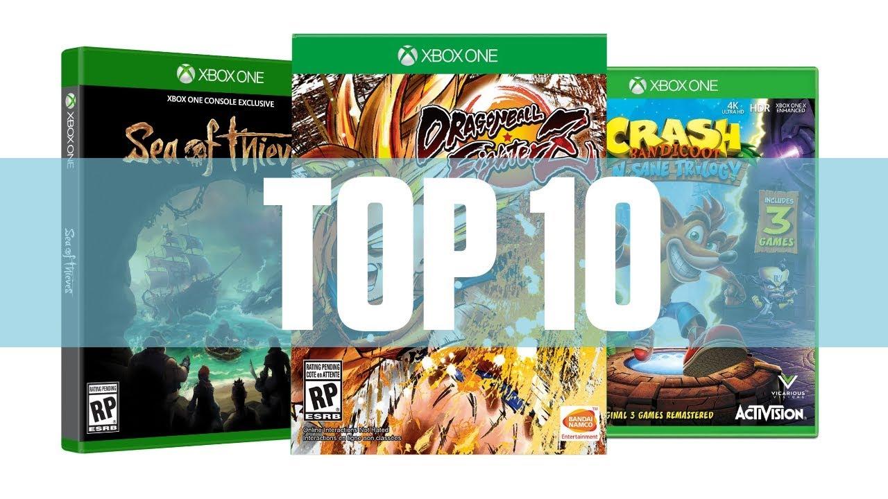 Top 10 Mejores Juegos Xbox One 2018 Hasta Ahora Youtube
