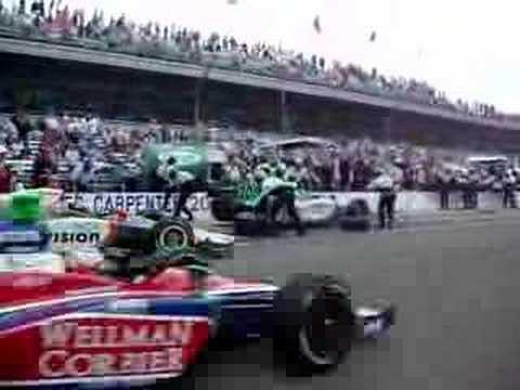 2007 Indianapolis 500 Ed Carpenter final pit stop