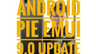 Honor Play Android Pie Update EMUI 9.0