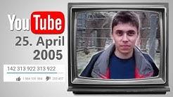 Das erste Video auf YouTube. Das musst du sehen!