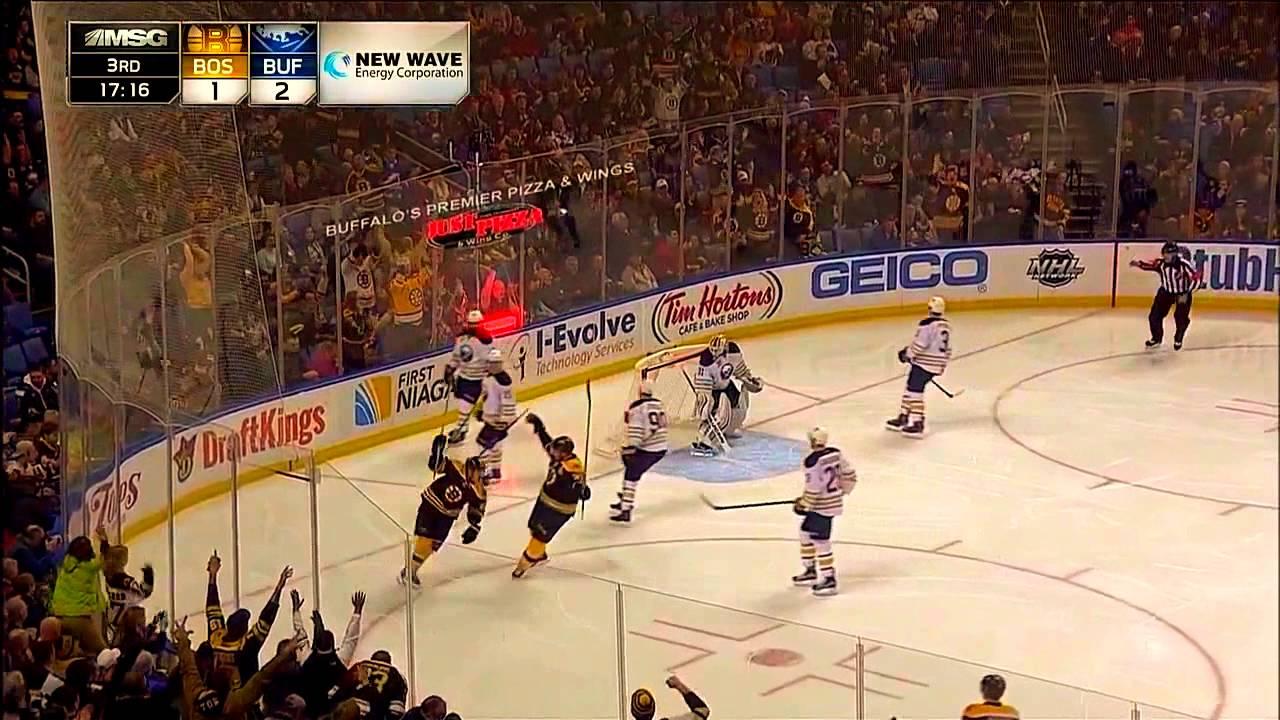 Brad Marchand Goal - Boston Bruins v Buffalo Sabres