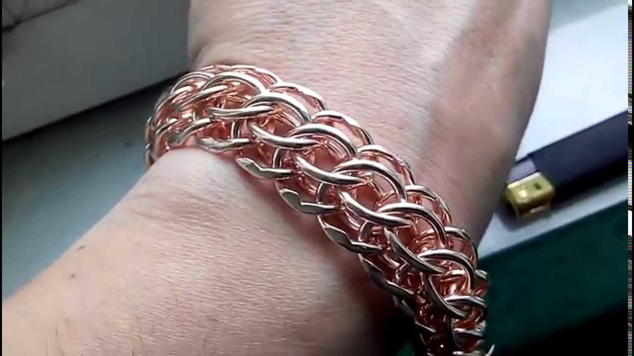 Золотые браслеты мужские - YouTube