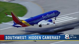 Southwest Airlines flight attendant accuses two pilots of live-streaming video from airplane bathroo