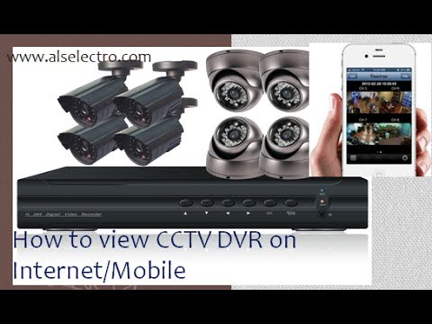 How to view CCTV DVR over Internet/Mobile