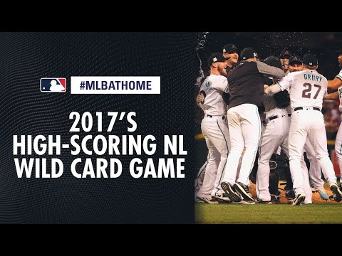 2017 NL Wild Card Game (Rockies Vs. D-backs) | #MLBAtHome
