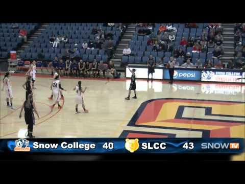 Women's Basketball Snow College vs. Salt Lake Community College