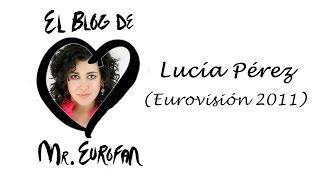 Lucía Pérez saluda a «El blog de Mr. Eurofan».