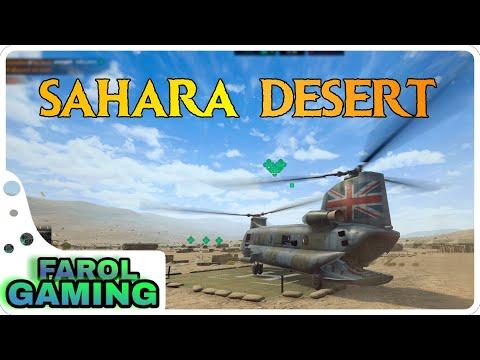 Heliborne Enhanced Edition Gameplay  -  Sahara Desert SOLO Mission │Ultra Settings - Ultrawide 21:9 |