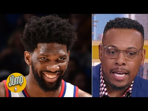 Joel Embiid loves getting booed by his own fans - Paul Pierce   The Jump