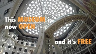 National Museum of Natural History is now OPEN