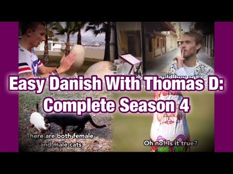 Easy Danish with Thomas D - Complete season 4