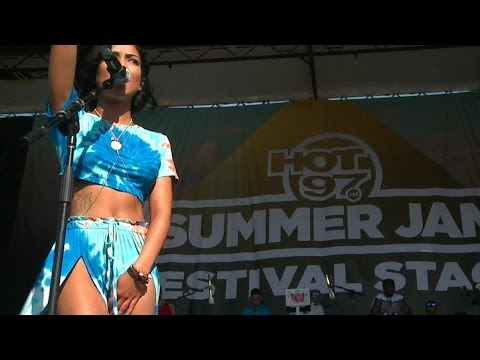 "JHENE AIKO - ""The Worst"" - Live at HOT97 Summer Jam"