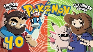 Pokemon Fire Red and Leaf Green   Let's Play Ep. 40   Super Beard Bros.