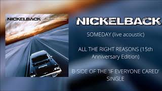 Nickelback - someday (live acoustic ...