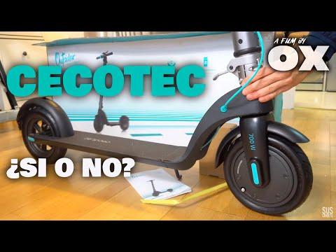 🛴Patinete Eléctrico CECOTEC ¿SI👍 o NO👎?