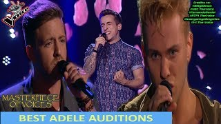 BEST ADELE SONG AUDITIONS IN THE VOICE