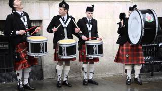 Essex Caledonian Pipe Band in Colchester