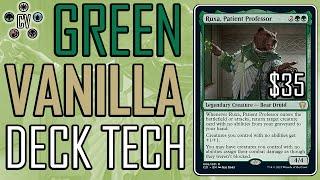 Budget Deck Tech: $35 Ruxa Mono-Green Vanilla Creatures