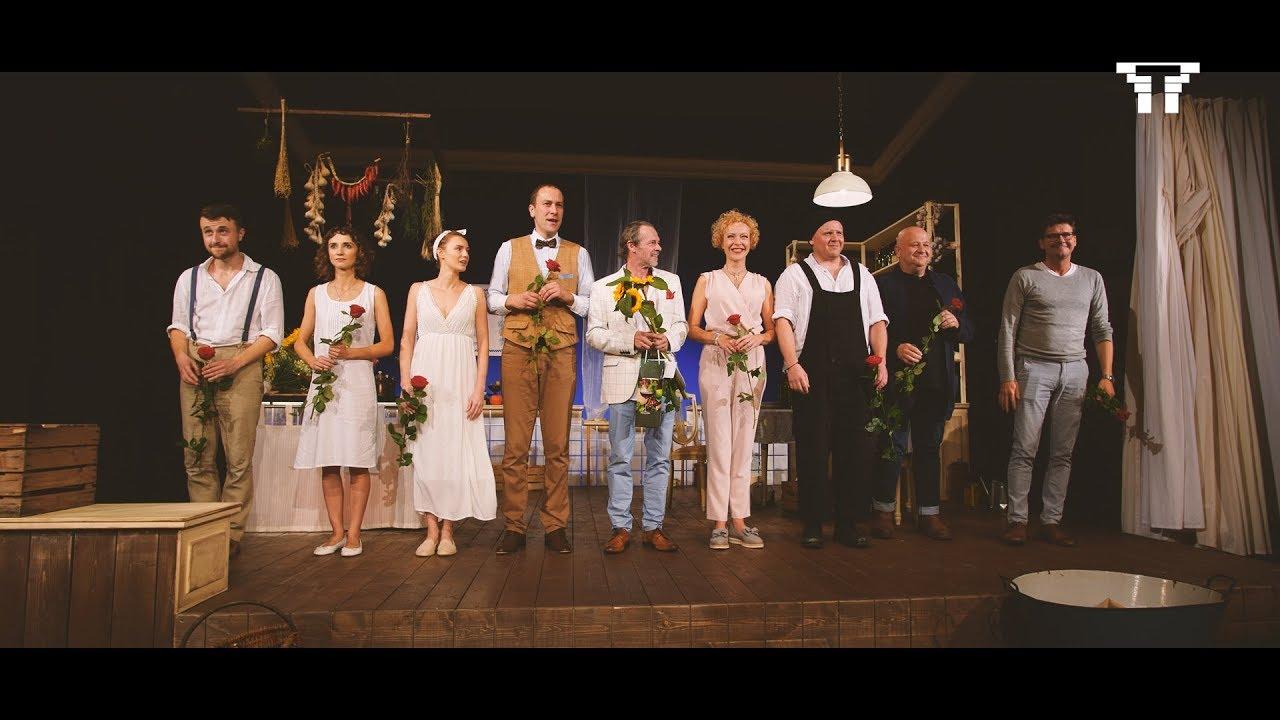 Premiera śluby Panieńskie Reż Wojciech Malajkat Teatr Im
