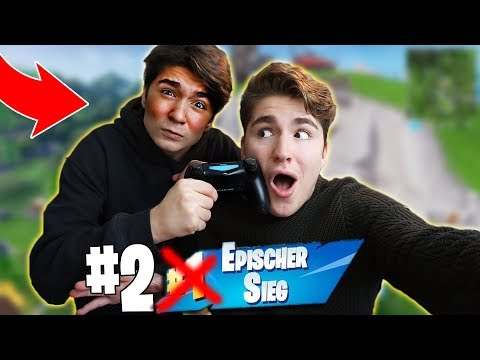 BRUDER in Fortnite PRANKEN! *PS4 WEG*