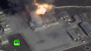 «Бастионы» и «Калибры» против боевиков: ракеты разрушают объекты террористов в Сирии