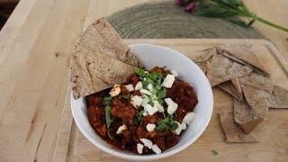 How To Make A Kidney Bean And Coriander Dip