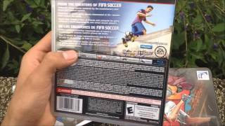 FIFA STREET PS3 UNBOXING
