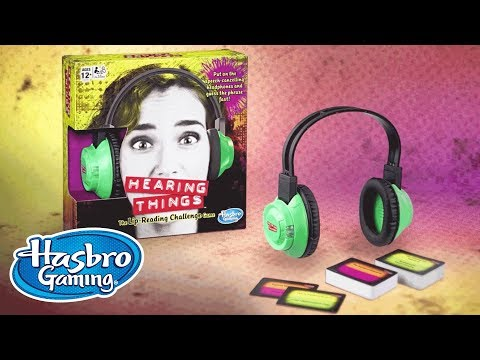 'Hearing Things' Official Teaser - Hasbro Gaming