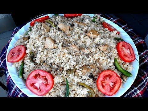 চিকেন তেহারি রেসিপি - Bangladeshi Chicken Tehari Ranna Recipe/Tehari Rannar Video Recipe in Bengali