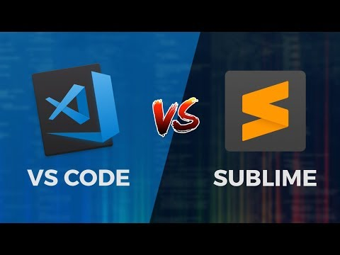 Visual Studio Code vs Sublime Text - Laravel Dev POV