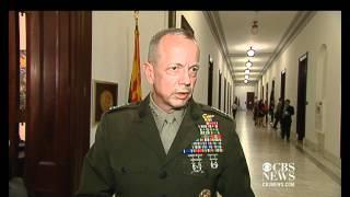 """Gen. Allen: U.S. troop withdrawal """"right on target"""""""