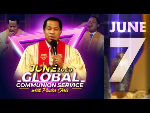 Pastor Chris:: June Global Communion Service