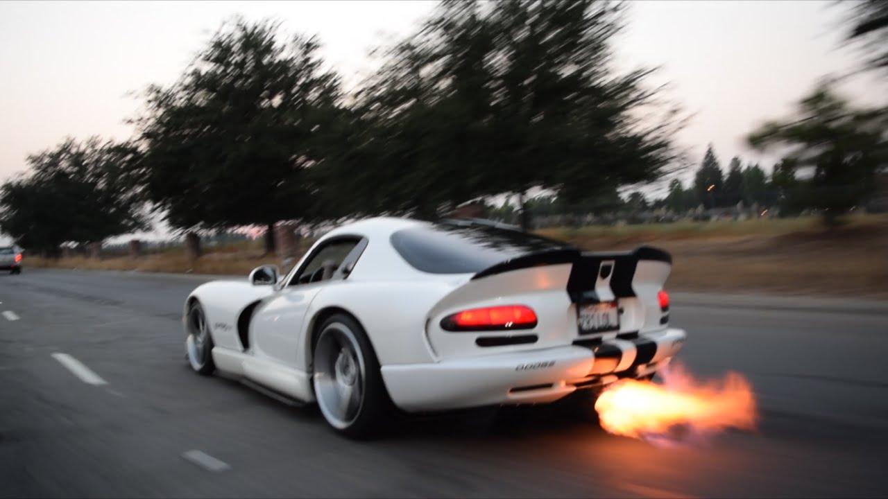 Delicieux Viper Exhaust Flames