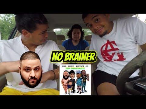 DJ Khaled - No Brainer (Audio) ft. Justin Bieber, Chance the Rapper, Quavo REACTION REVIEW