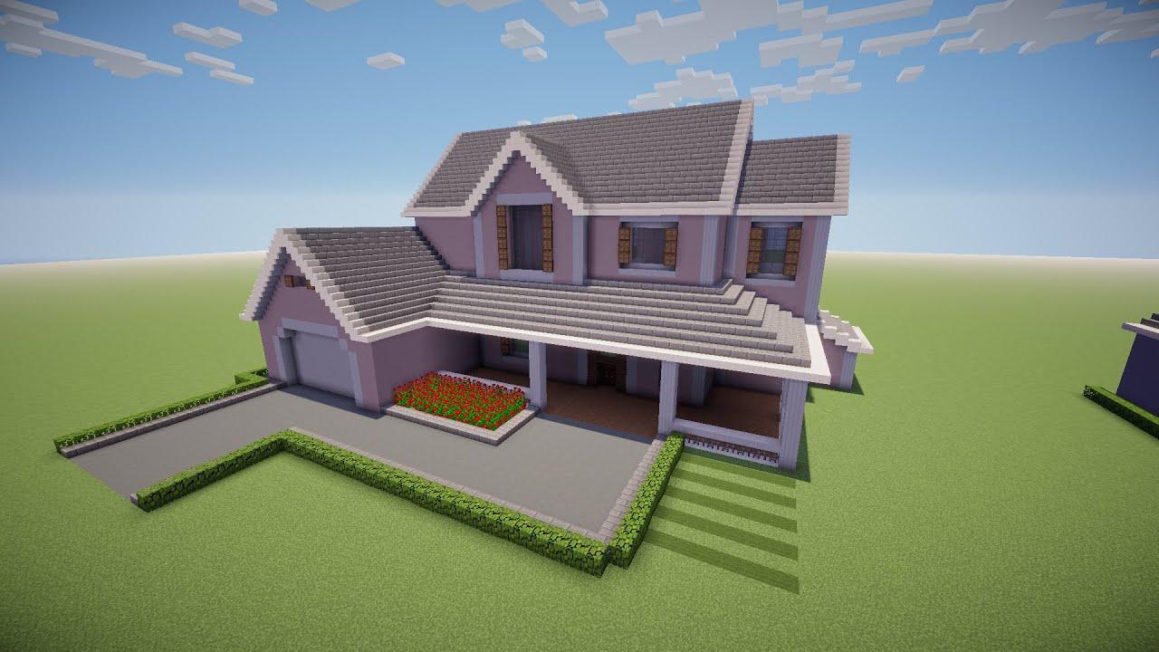 Minecraft como fazer uma casa youtube for Minecraft videos casas