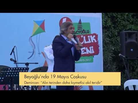 Beyoğlu Belediyesi - Beyoğlu'nda 19 Mayıs Çoşkusu