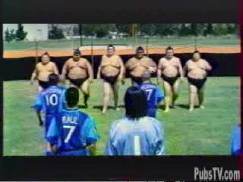 Pepsi Sumo Soccer Footbal Funny Commercial