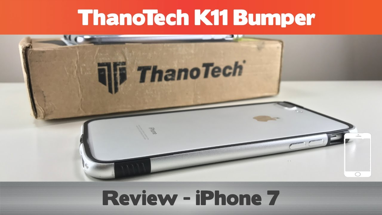 newest ce31b d9d04 ThanoTech K11 Bumper Review - Re-designed for the iPhone 7!