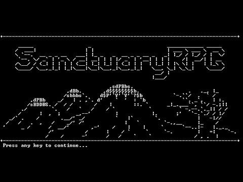 SanctuaryRPG - (Classic Text Adventure Game)