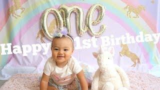 誕生から満1歳までの成長記録♡ Hailey's First Birthday Special!