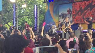 Gambar cover Green Day - Basket Case @ GMA Summer Stage NYC