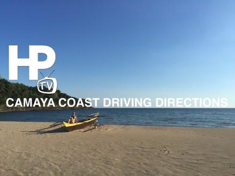 Camaya Coast Driving Directions Manila to Camaya Coast Mariveles Bataan by HourPhilippines.com