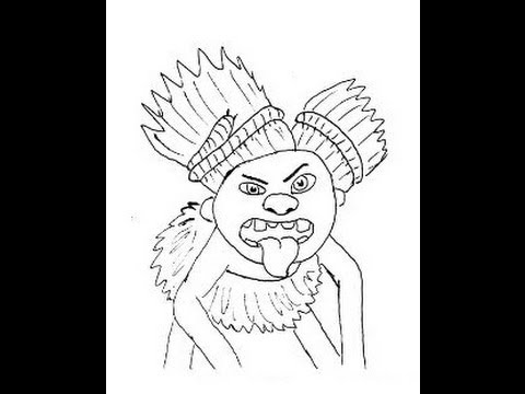 THE CROODS (Film) How to draw a easy? Семейка Крудс Как