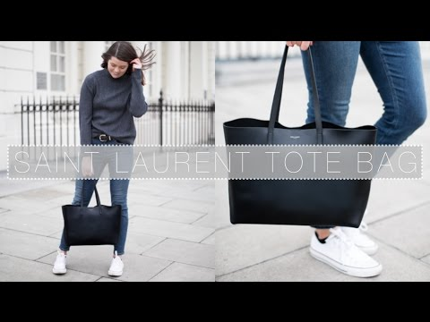0de1ee87fc7 What's In My Saint Laurent Tote Bag   The Anna Edit - YouTube