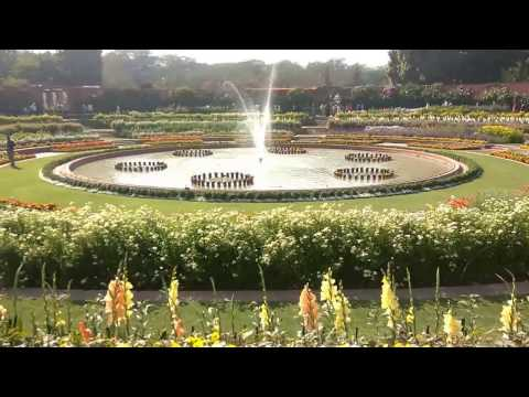 Mughal garden delhi overview 2017 by Awesome Garden || incredible india