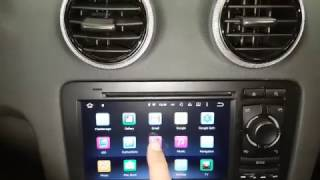installation adding navigation backup camera android system audi a3