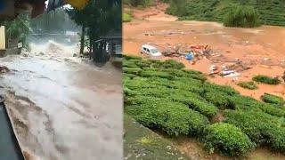 Watch: Incessant rains, landslides batter Kerala's Wayanad