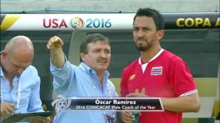 CONCACAF Coach of the Year - Óscar Ramírez