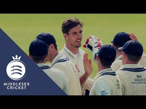 County Championship Match Action - Middlesex v Warwickshire Day One (6Aug2017)